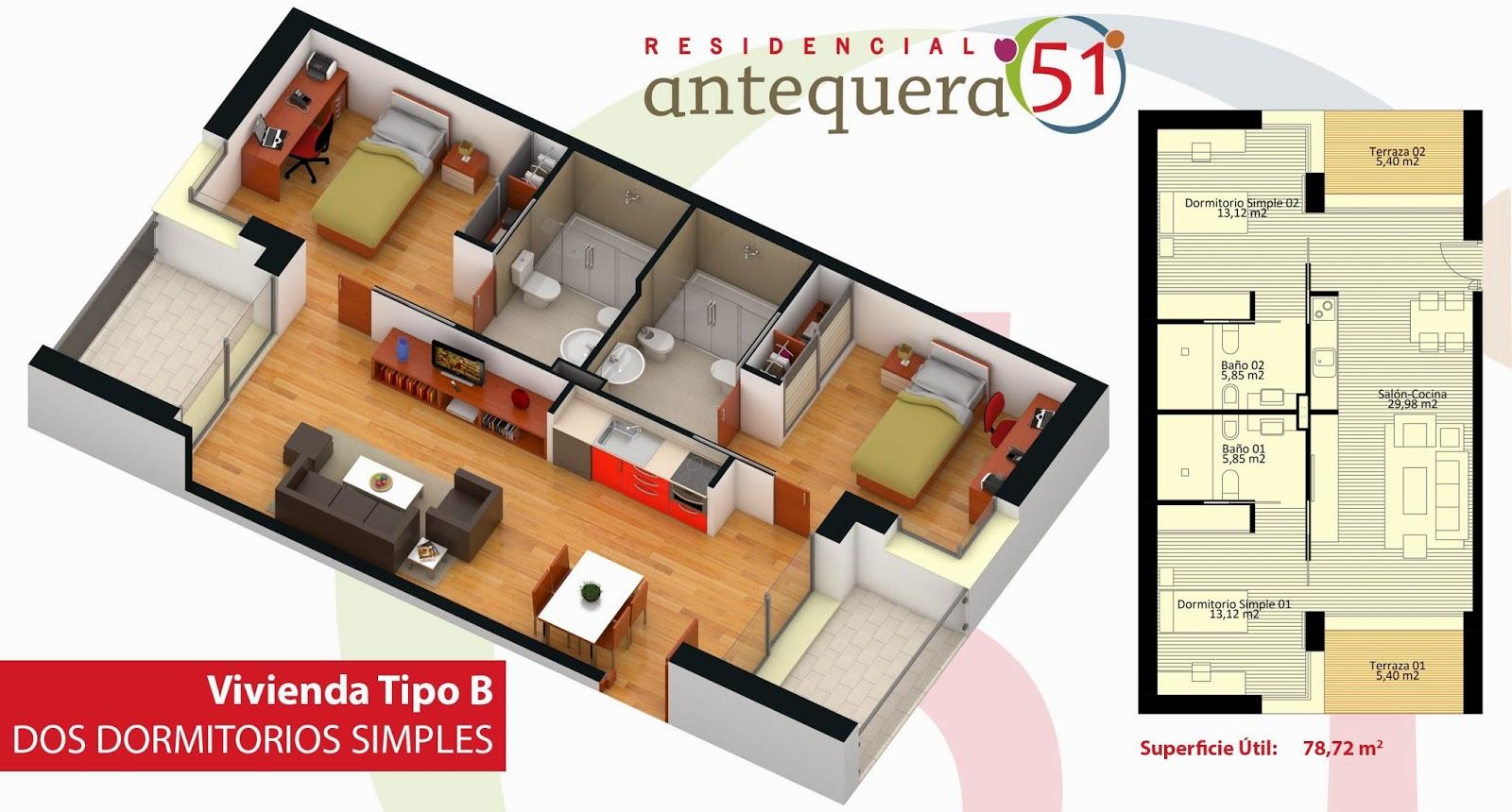 Una cooperativa de mayores construir un complejo for Piso 80 metros cuadrados