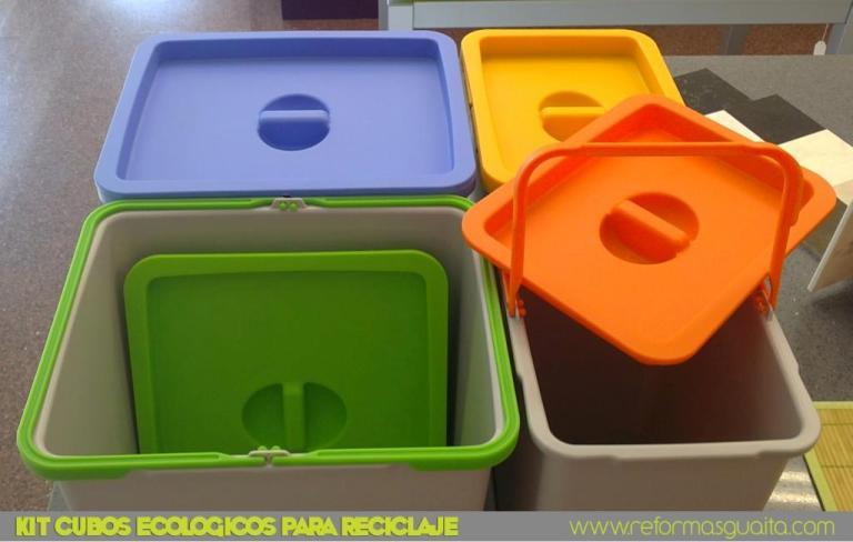 Cubos de basura para gaveteros reformas guaita for Cubos de basura cocina