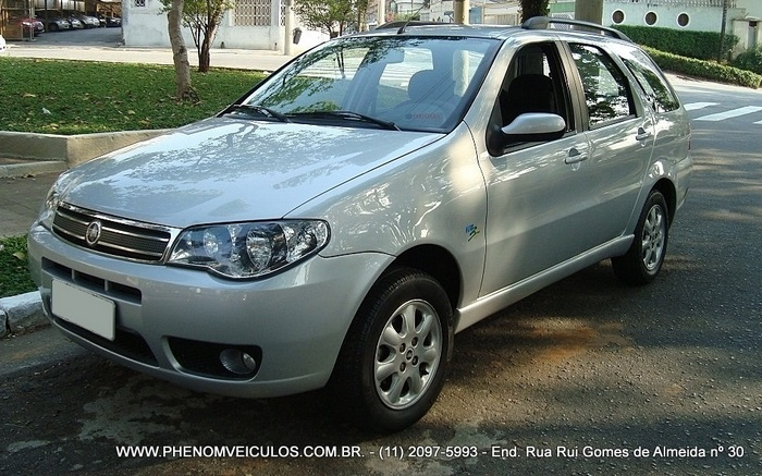 Fiat Palio Weekend ELX 1.4 Flex 2007 prata