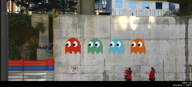 Autre exemple de Space Invaders - Exposition Space Invader
