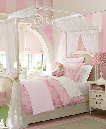 Interior Source: Little girl bedroom