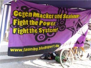 Transparent der FAU Nürnberg