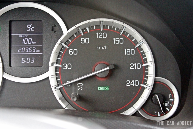 Cruise Control Suzuki Swift Sport