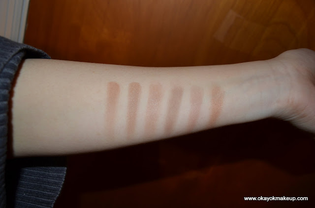 bronzer swatches