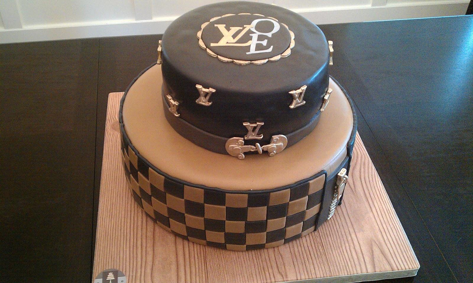 Edible Cake Images Louis Vuitton : Cake Geniuses: Louis Vuitton Cake