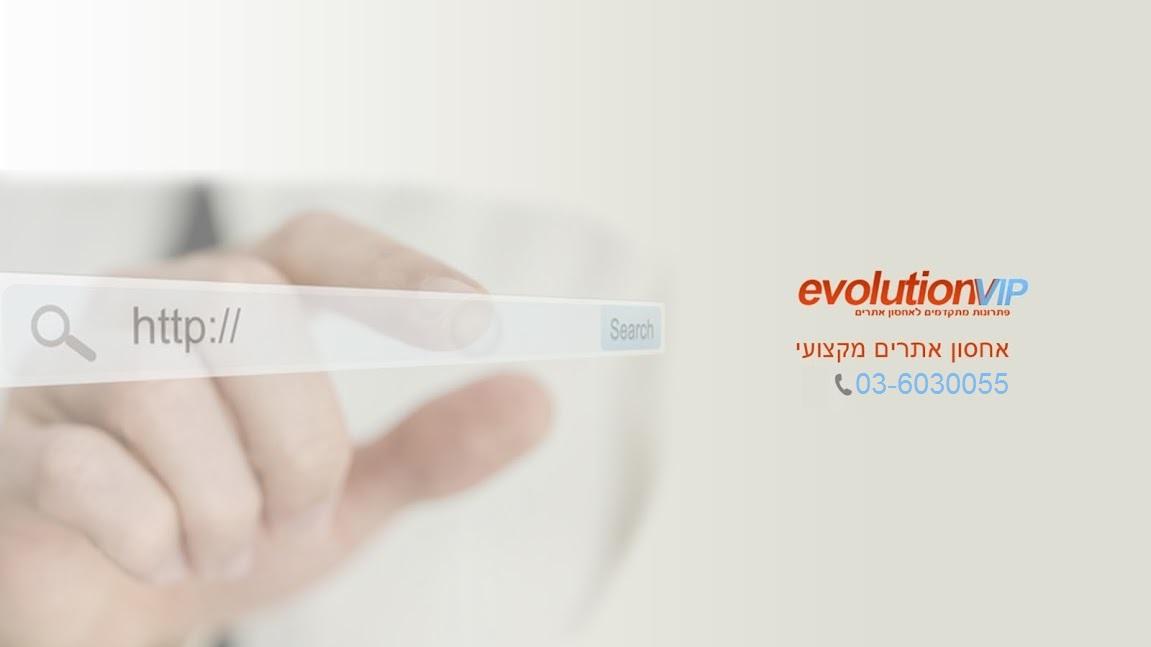 הבלוג של EvolutionVIP אחסון אתרים