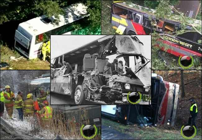 6 Kecelakaan Bus Musik yang paling parah Sepanjang Masa
