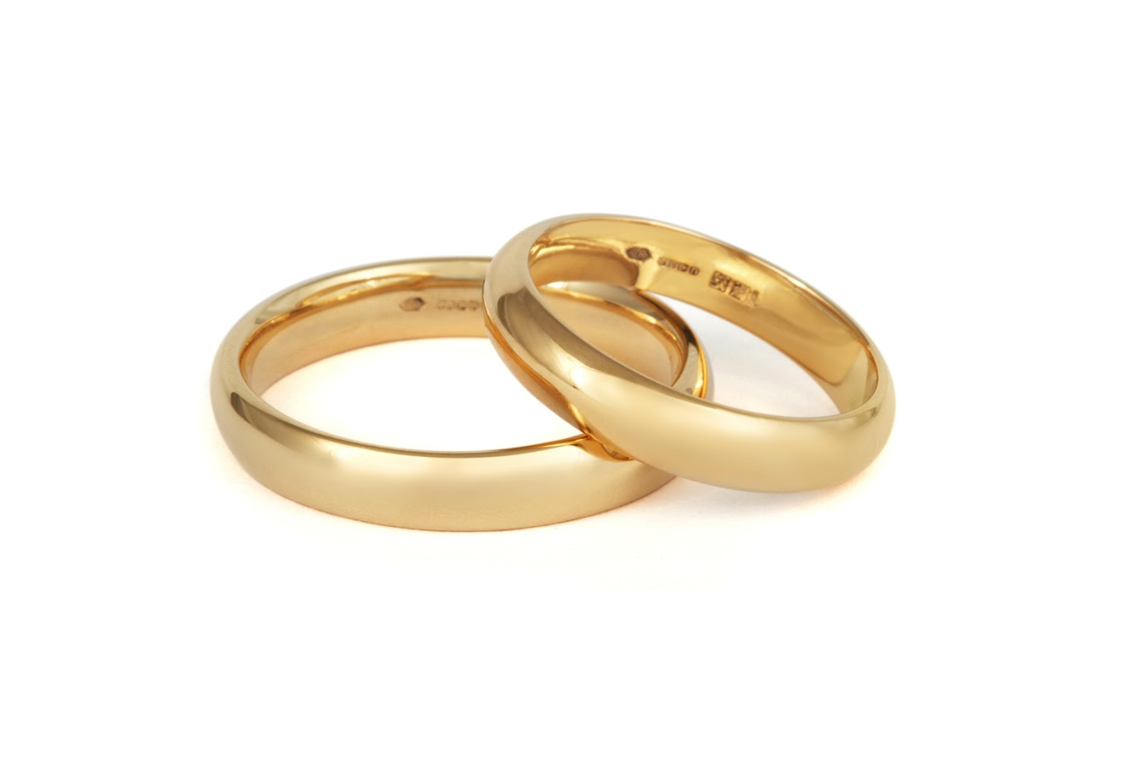 Circle Wedding Rings Image