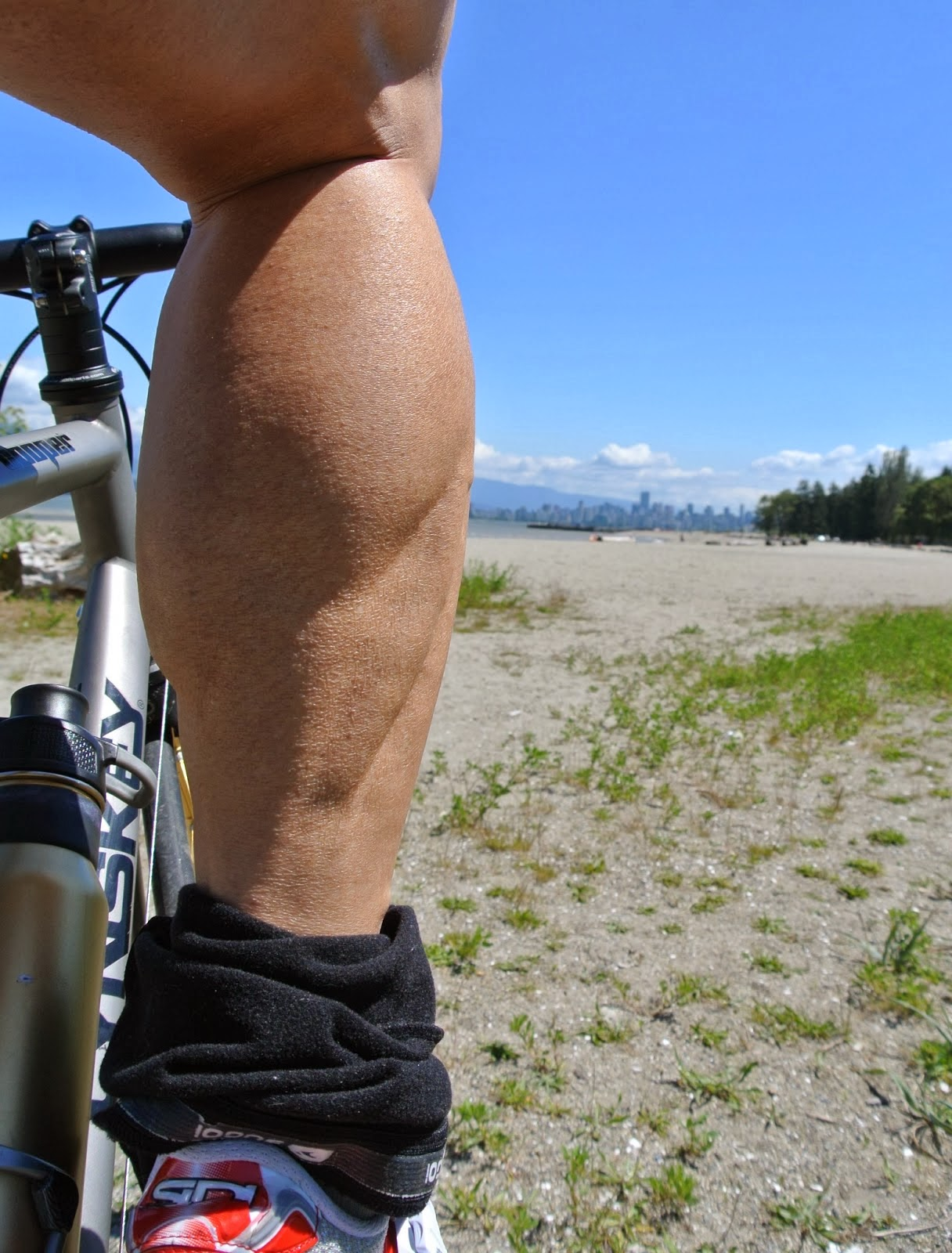 how to build leg muscle cycling