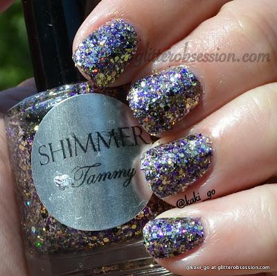 Shimmer Tammy swatch