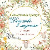 """СП """"Детство в ладошке"""" 1 этап"""