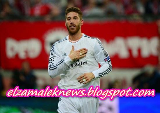 Sergio Ramos player of Real Madrid
