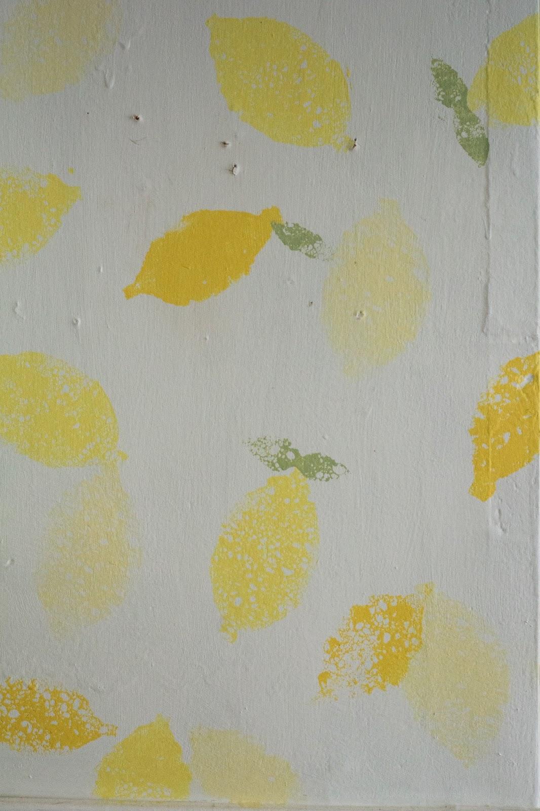Professionalish How To Lemon Print Wallpaper