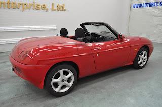 1996 Fiat Barchetta LHD