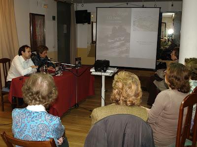 Presentación en la Casa de Aragón en Madrid