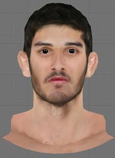 NBA 2K13 Omri Casspi Cyberface Patch