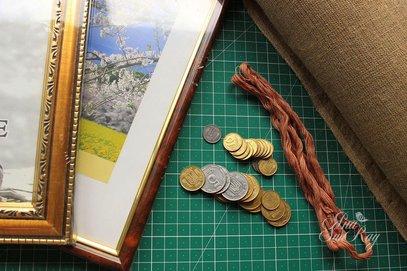 мастер-класс, денежное дерево, подарок, мк, подарок своими руками, денежное дерево своими руками, монетное дерево, Совместник, СП, пейп-арт, мк оберега, мастер-класс оберега, дерево из монеток