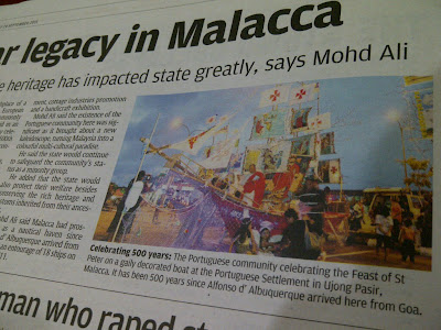 The Star: Melaka and Portuguese