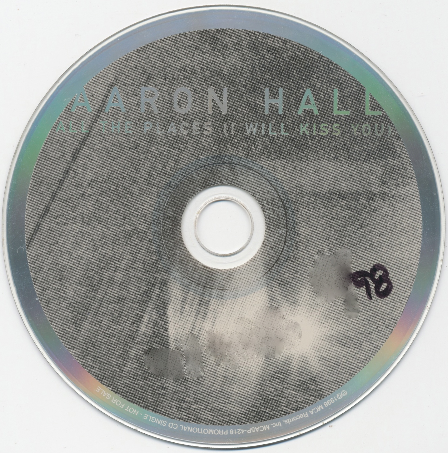 Aaron Hall – All The Places (I Will Kiss You) Lyrics ...