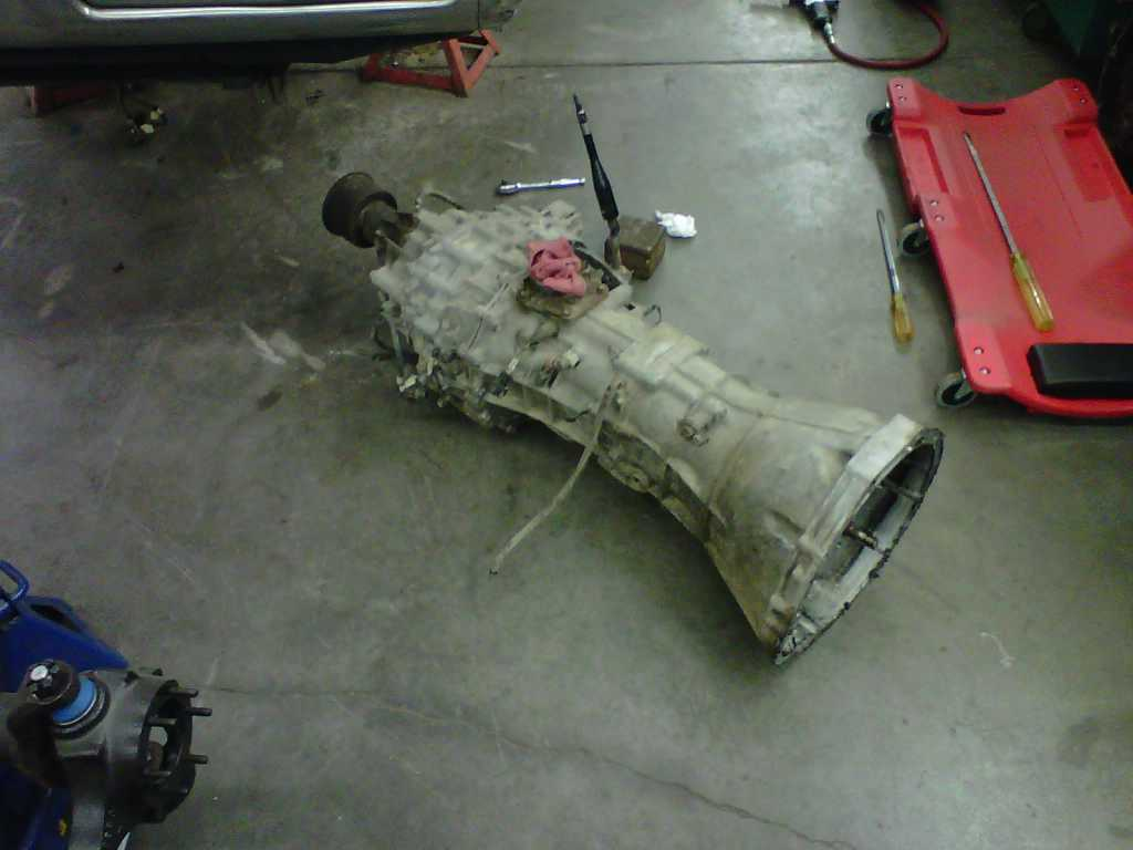 1994 Nissan Hardbody Build Up Ifs Out Transmission Out