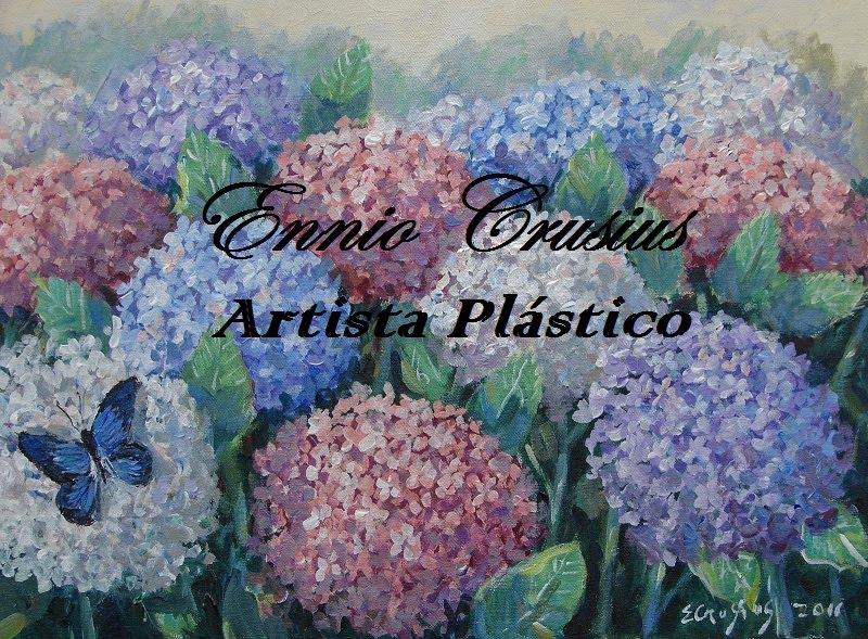 Enio Crusius Artista plástico/ Ennio Crusius Plastic Artist