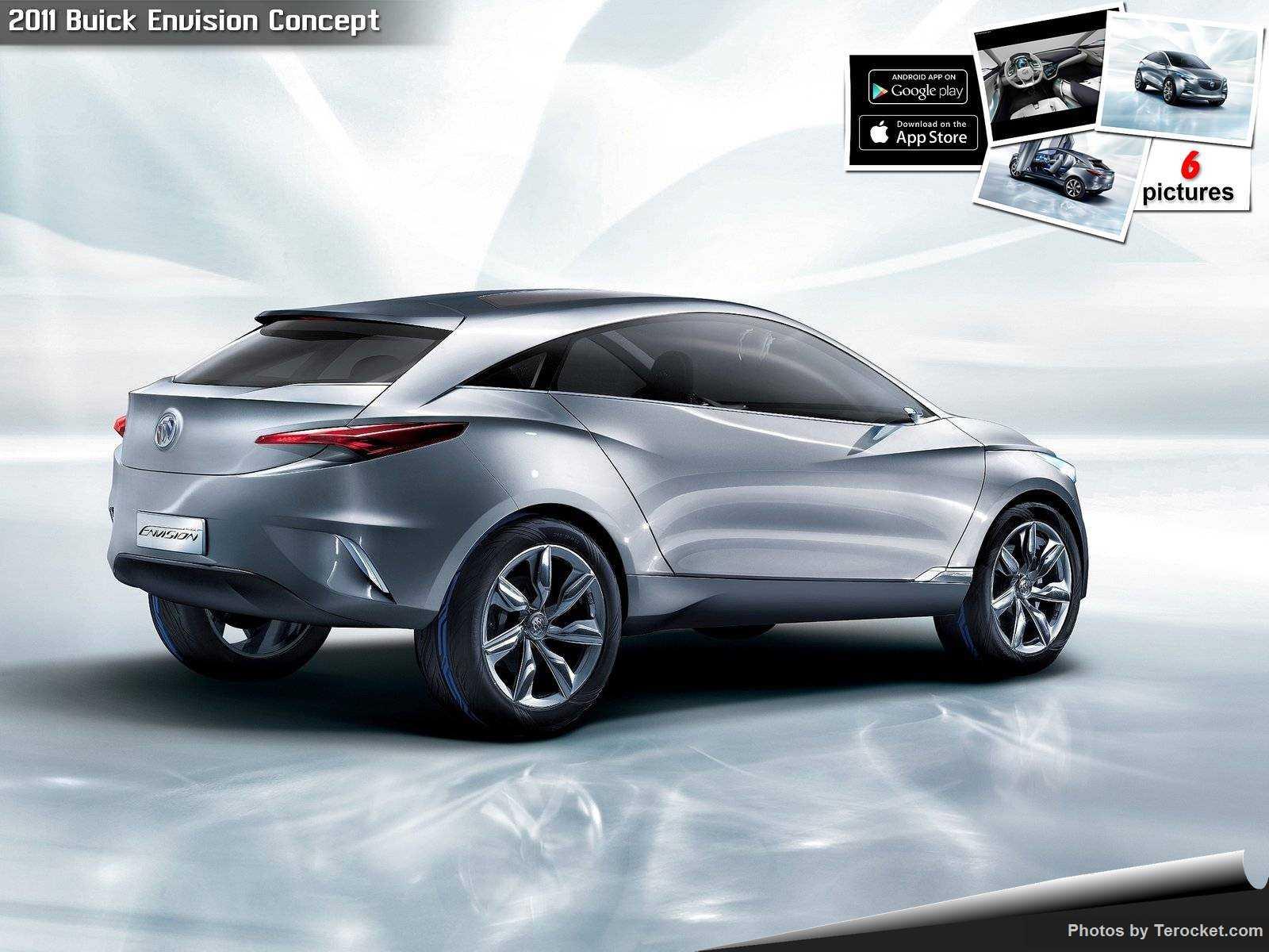Hình ảnh xe ô tô Buick Envision Concept 2011 & nội ngoại thất