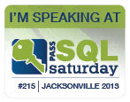 SQLSaturday #215 - JAX