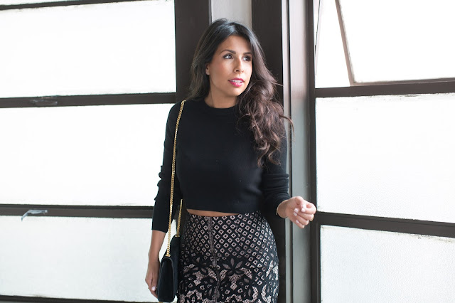 ideas for valentines day outfit, classy lace skirt, renting outfits