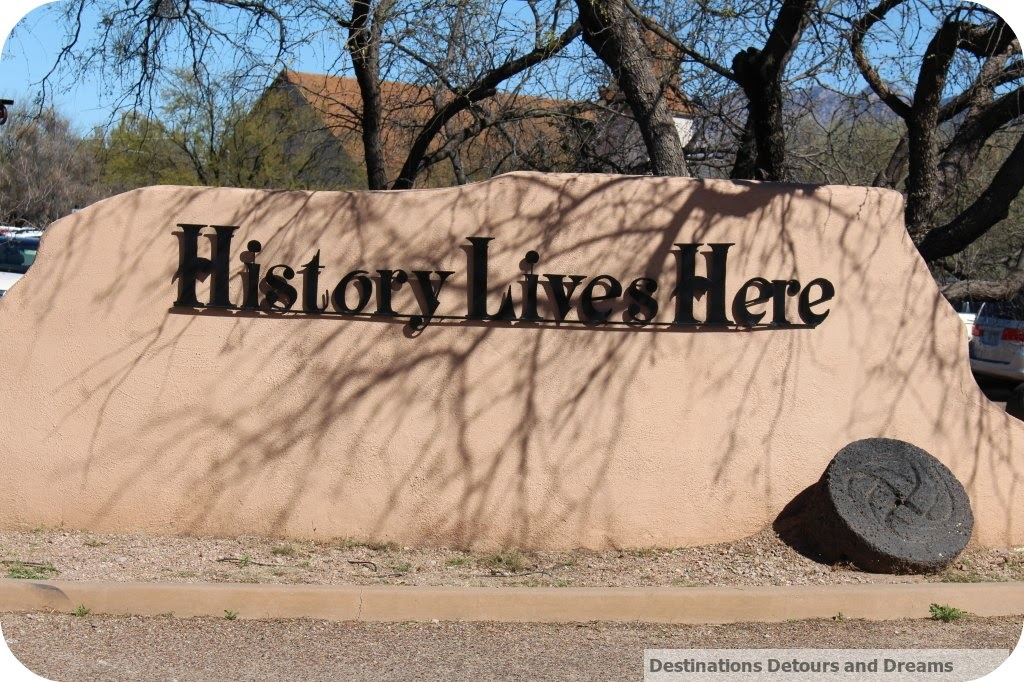 Entrance to Tubac Presidio State Historic Park
