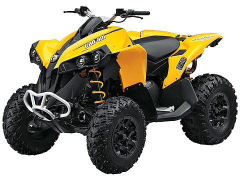 2013 Can-Am Renegade 500 ATV pictures. 480x360 pixels