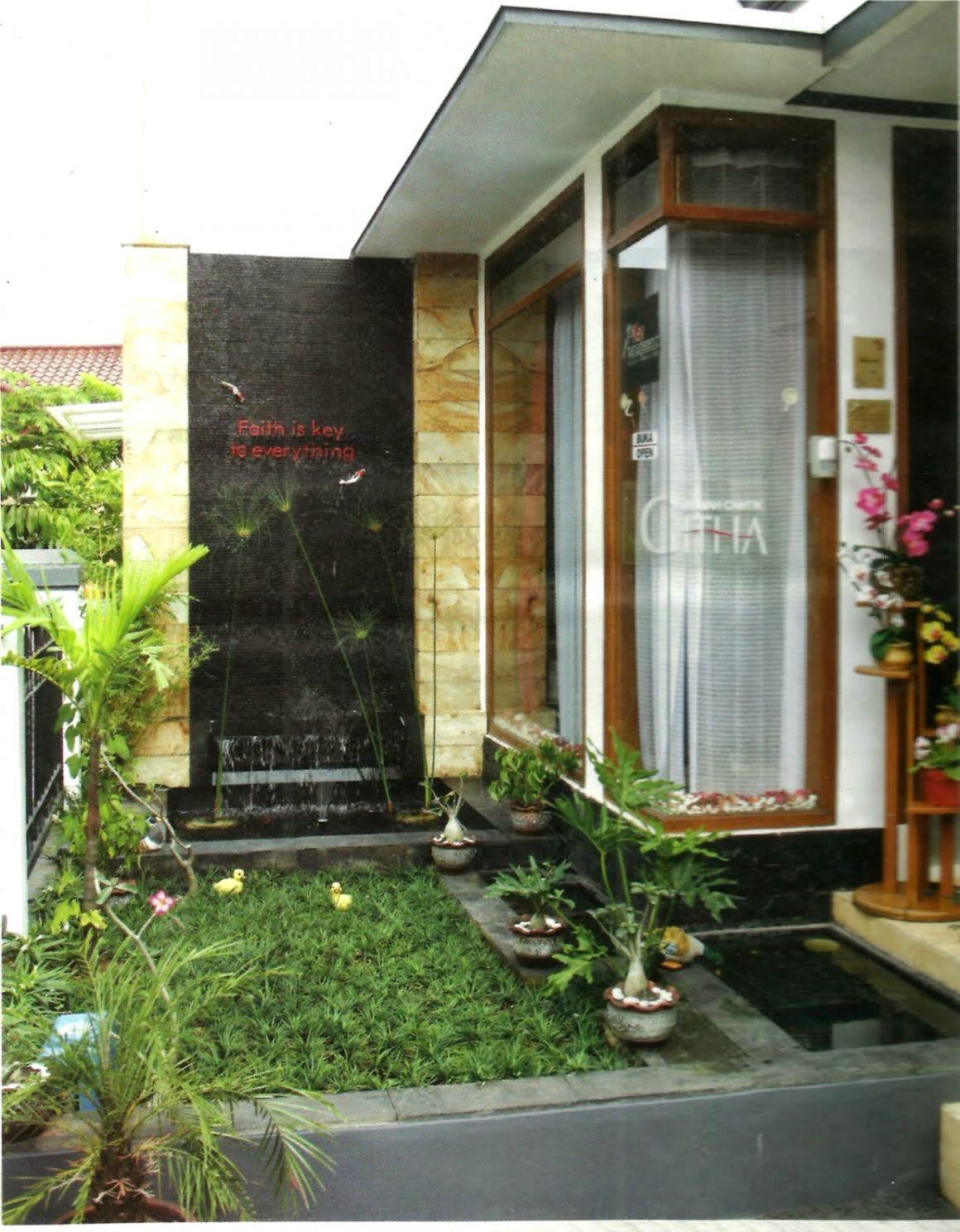 gambar taman rumah minimalis design rumah minimalis