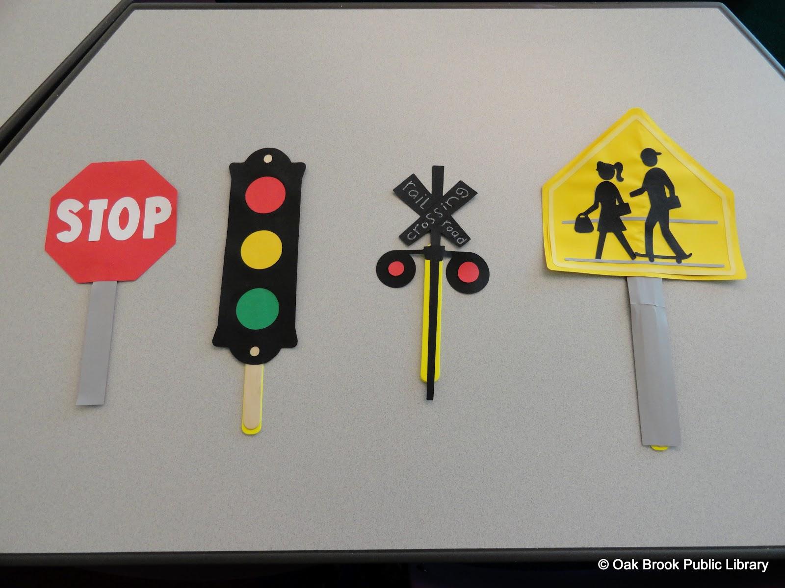 Поделки из бумаги светофора