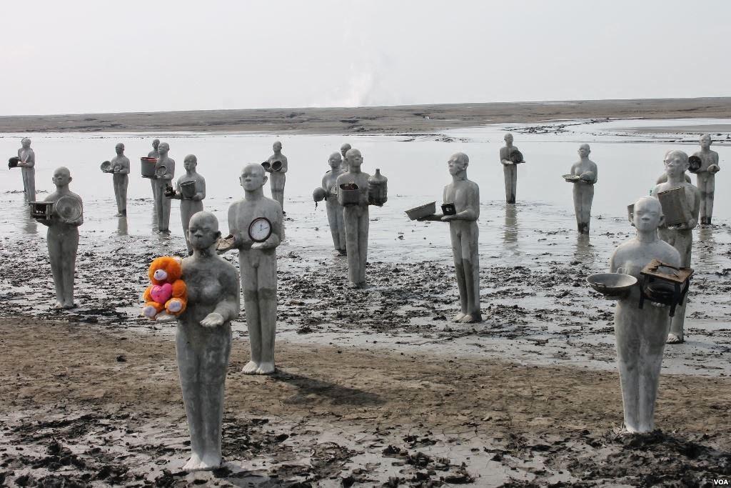Warga Sidoarjo Peringati 8 Tahun Musibah Lumpur Lapindo