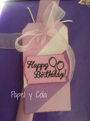 Papel y Cola: Tag de cumpleaños