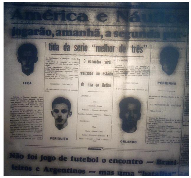 MEMÓRIAS ESMERALDINAS ESPECIAL: América 3x0 Náutico em fev-45 (AMÉRICA CAMPEÃO 1944!)