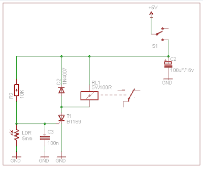 laser sensor circuit