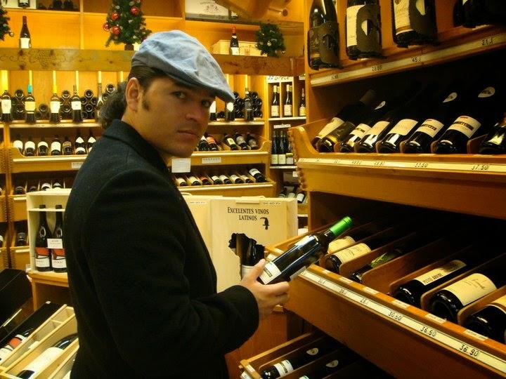 Vinoteca en Francia