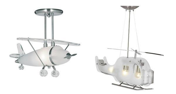 Desain Lampu Imajinatif Kamar Tidur Anak