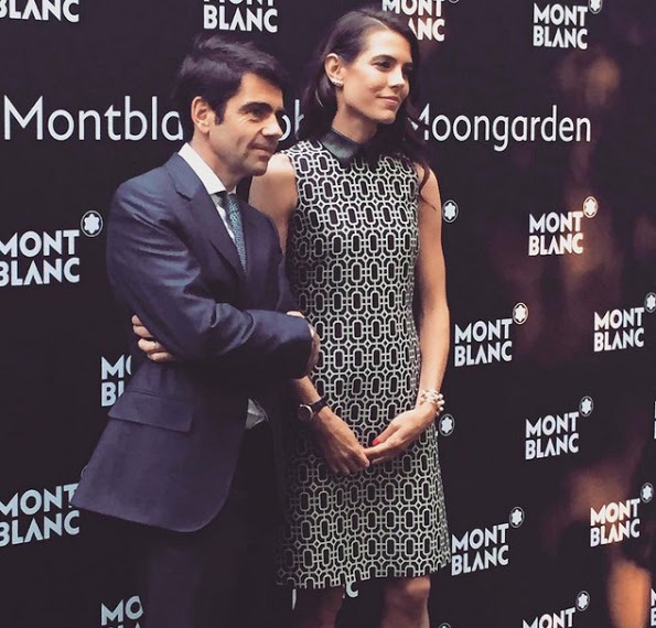 Charlotte Casiraghi At The Montblanc Boheme Event Paris