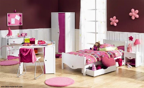 idee deco chambre petite fille 3 ans. Black Bedroom Furniture Sets. Home Design Ideas