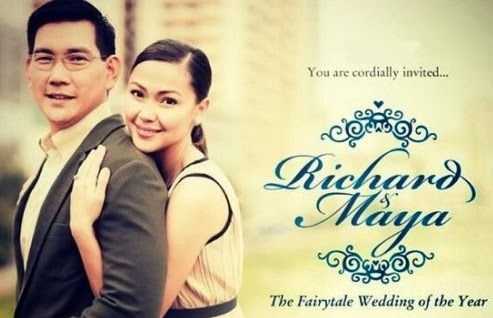 "You are invited to Maya and Ser Chief's ""Fairytale Wedding of the Year"""