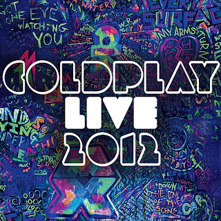 capa Download  Coldplay Live 2012  DVDRip AVI + RMVB