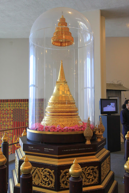 A gift from Thailand to United Nations can also be seen at United Nations Headquarter in New York, USA