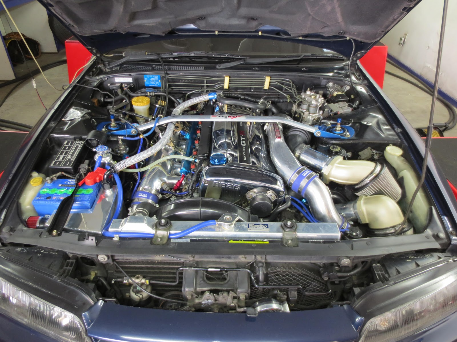 ST Hitecs Tuning Diary  TOMEI M7655 turbo