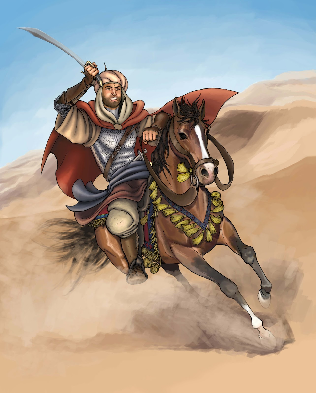 Pejuang Muslim Tentara Islam Muslim Warrior