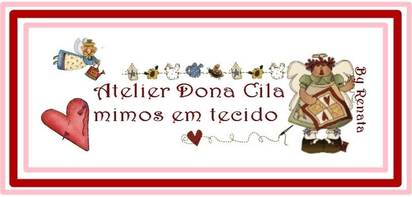 Dona Cila, mimos em tecido