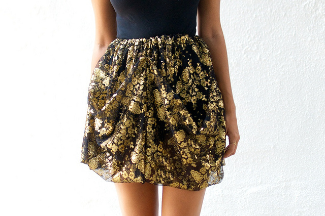 D&G knockoff skirt DIY