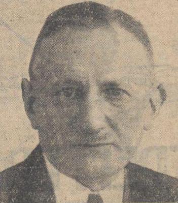 A. van Collem op 70-jarige leeftijd in het Alg. handelsblad