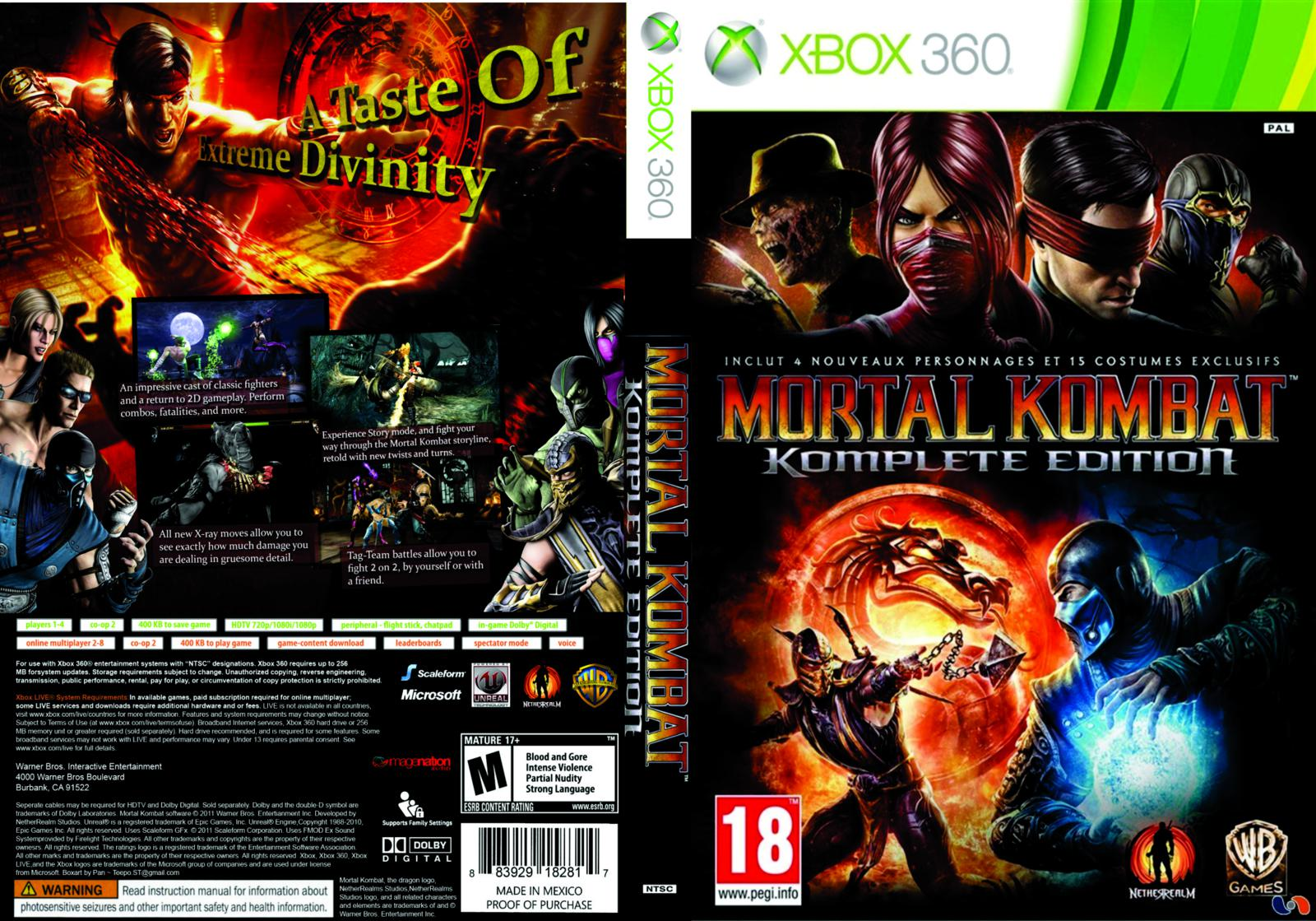 Mortal kombat komplete edition nudity xxx images