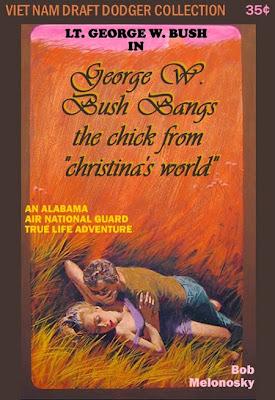 George W. Bush Andrew Wyeth Christina's World funny Bob Melonosky